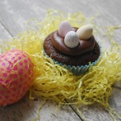 Easter Chocolate Cup Cakes