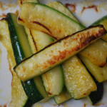 Courgette & Parmesan Chips