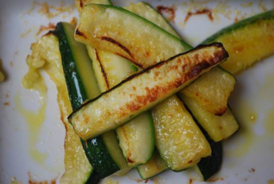 Courgette Parmesan Chips