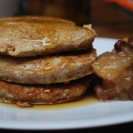 Pear and Cinnamon Pancakes