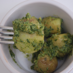 Pesto Potatoes