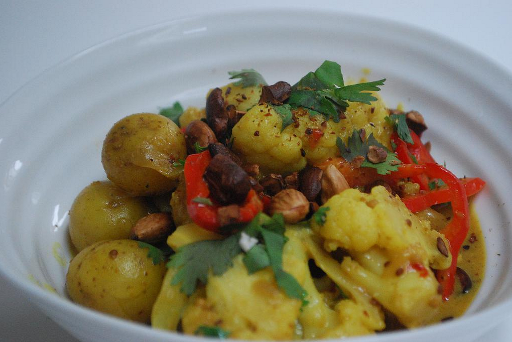 Cauliflower & New Potato Curry