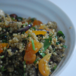 Quinoa with Hazelnuts, Orange, Onion & Herbs