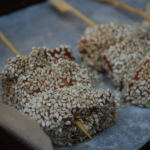Sesame Salmon Sticks