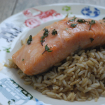 Salmon with Thyme and Honey