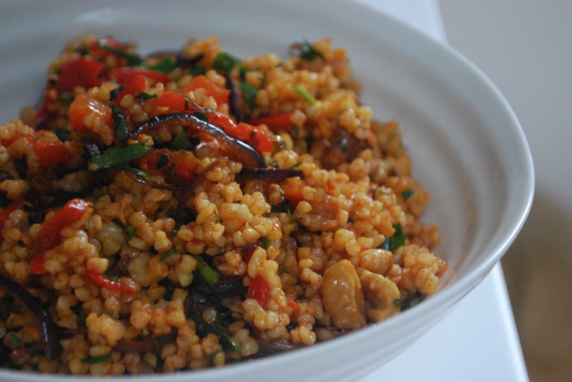 How To Cook Whole Grain Red Bulgur
