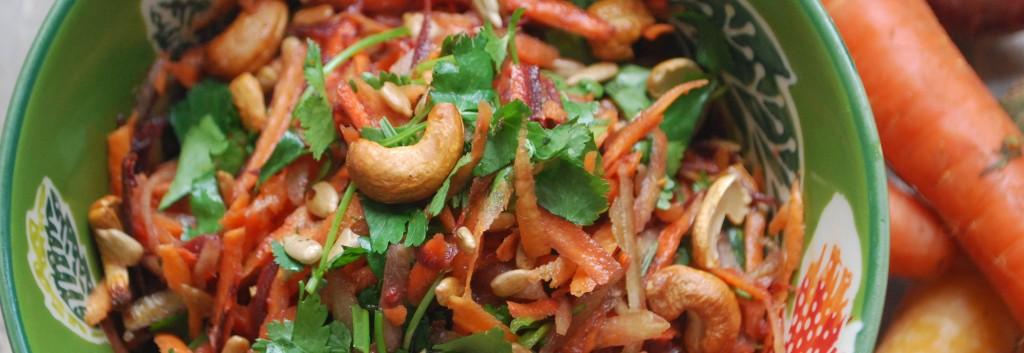 Sunny Carrot Salad header