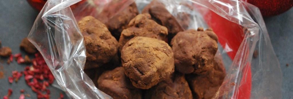 Chocolate truffle header
