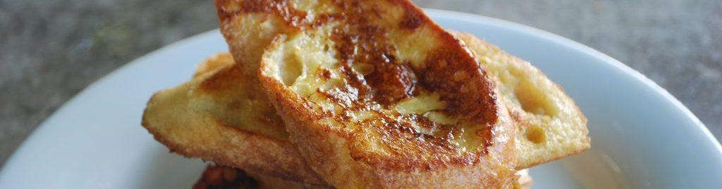 Cinnamon Spiced Eggy Bread