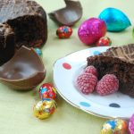 Easter Egg Chocolate Cake