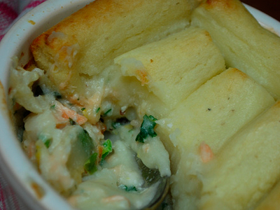 how to make healthy fish pie