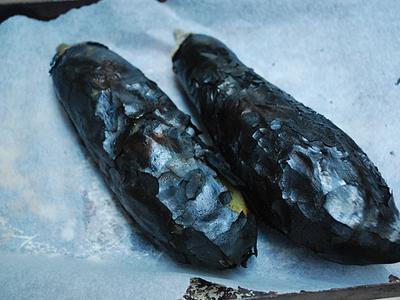 Baba Ganoush - aubergines