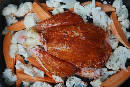 Roasted Family Chicken