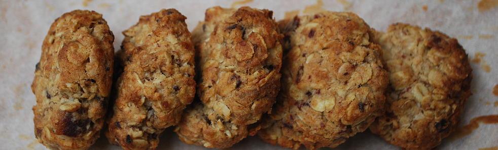 Oat & Raisin Goodness Cookies