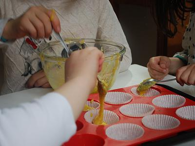 Healthy Cupcakes - prep