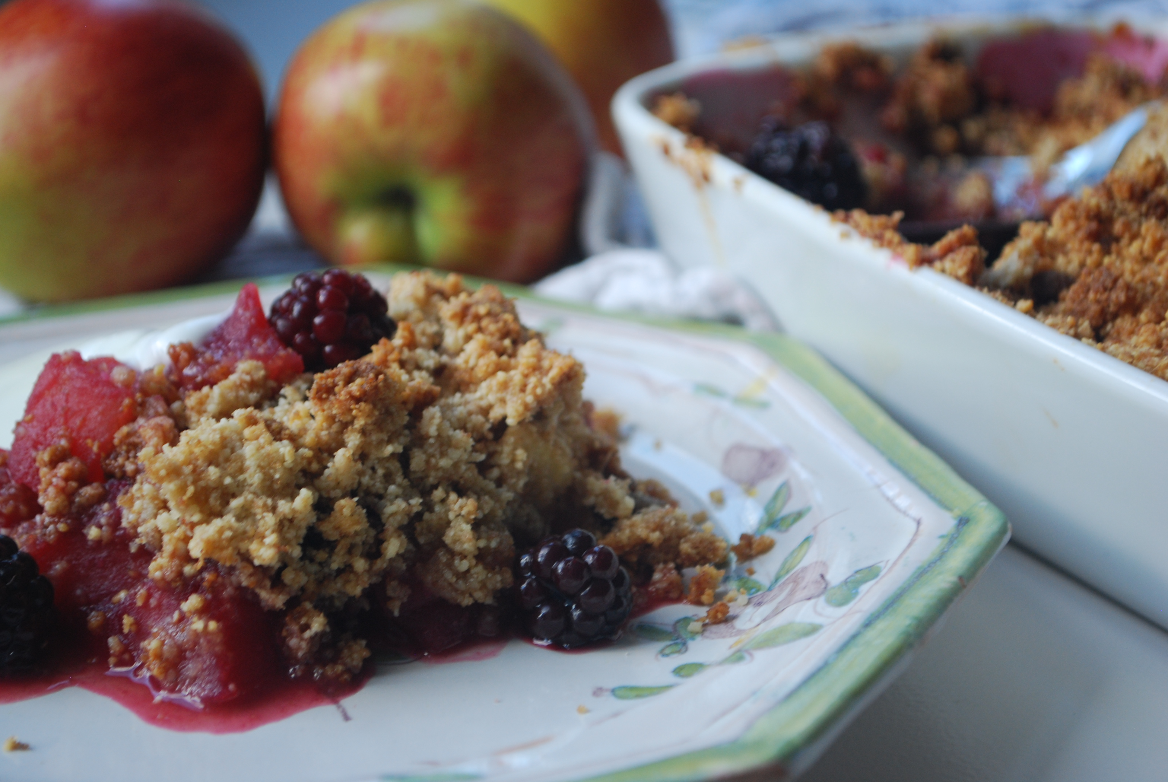 Apple Berry Crumble - Winter Warmers