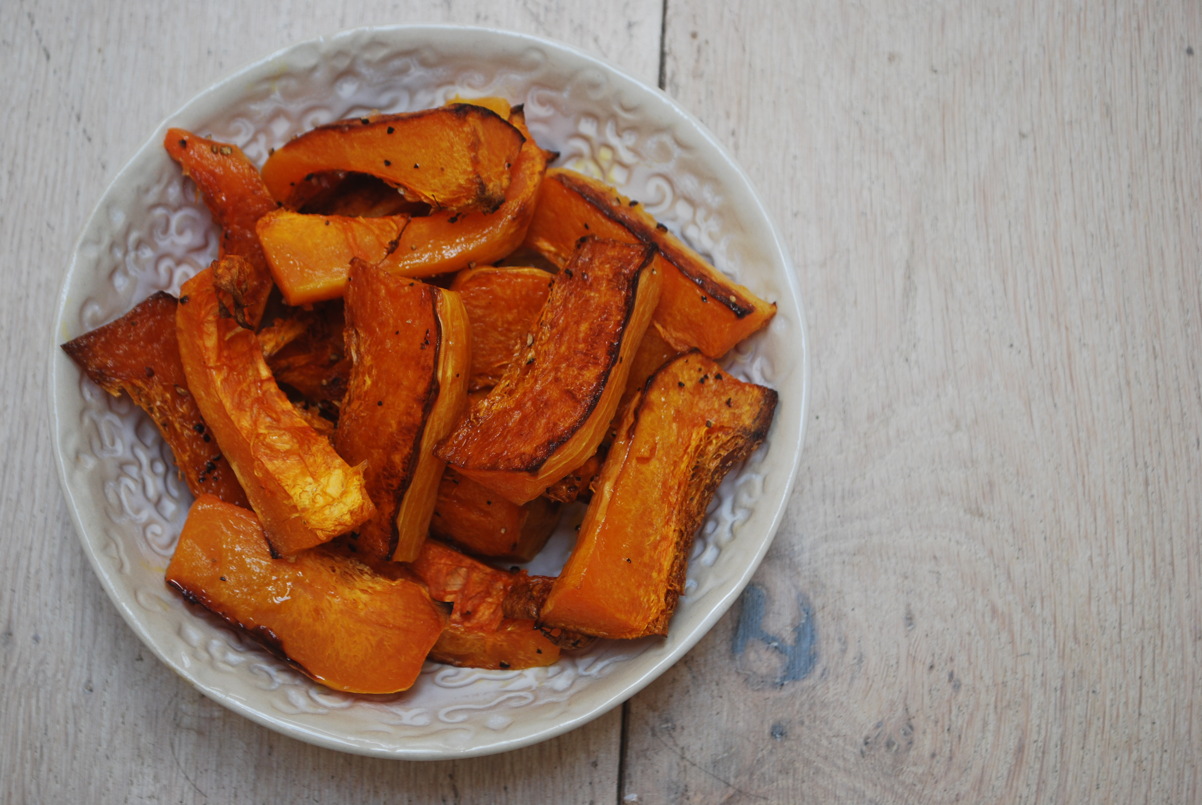 Butternut Squash Wedges Cooking Them Healthy