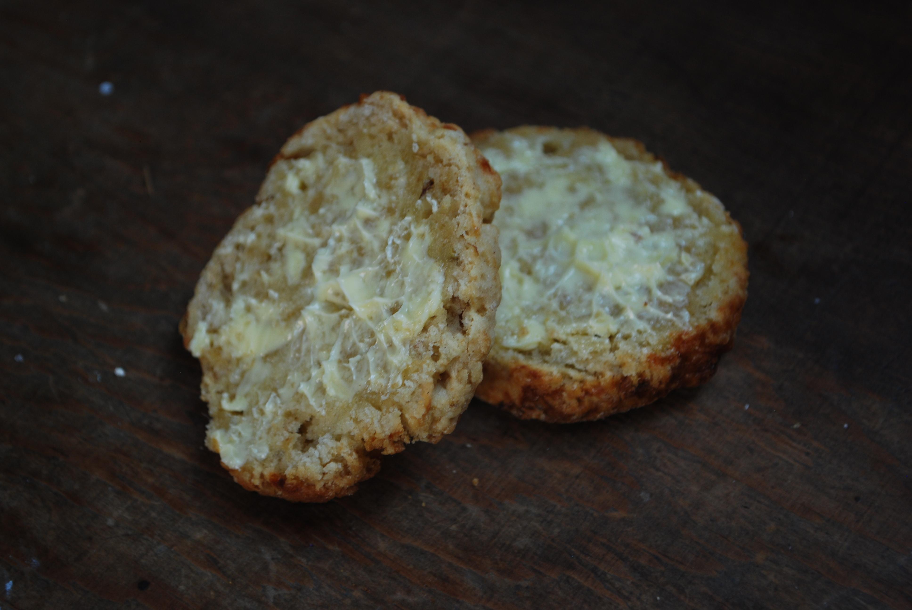 Cheese Apple Scones