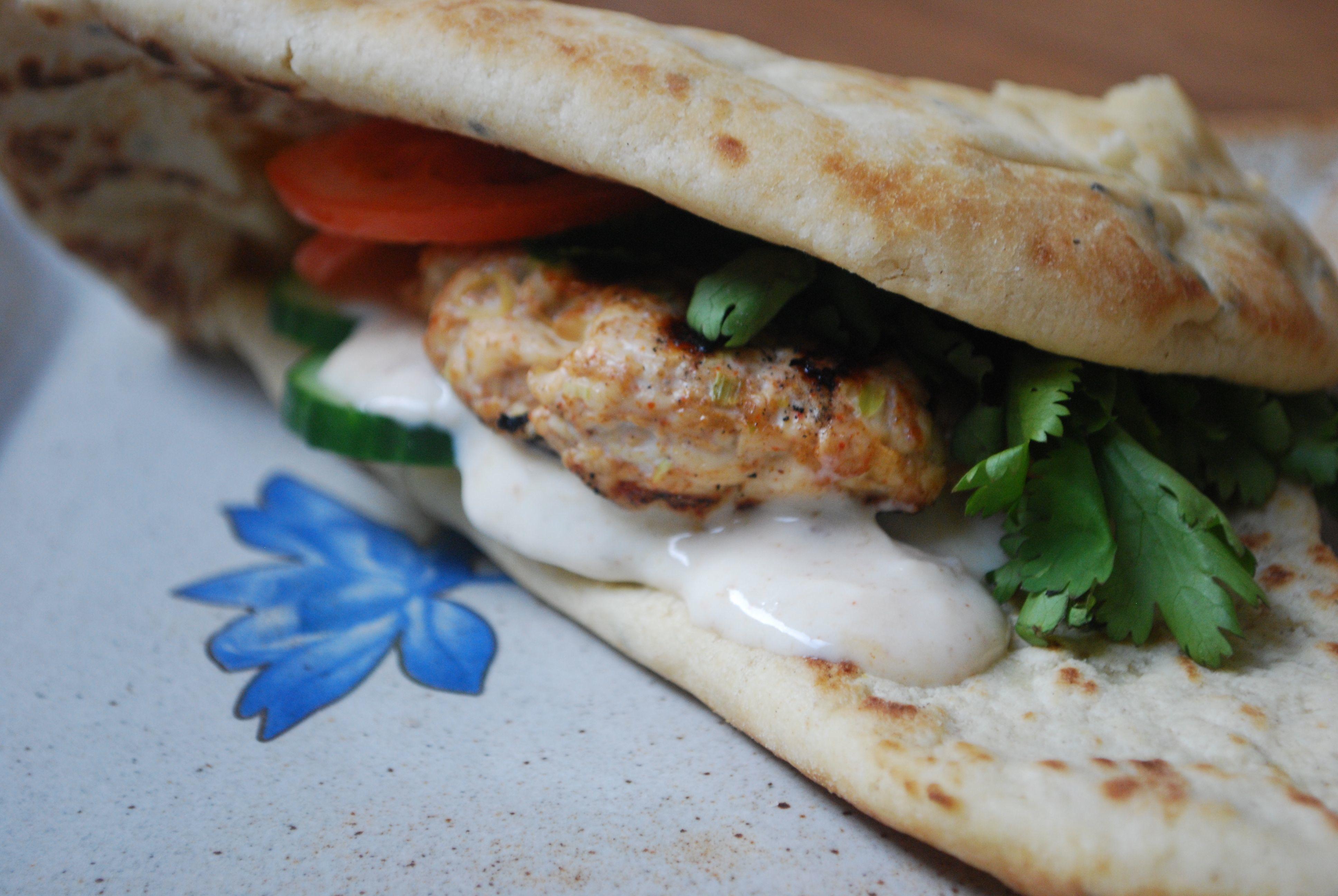 Chicken Tandoori Burger
