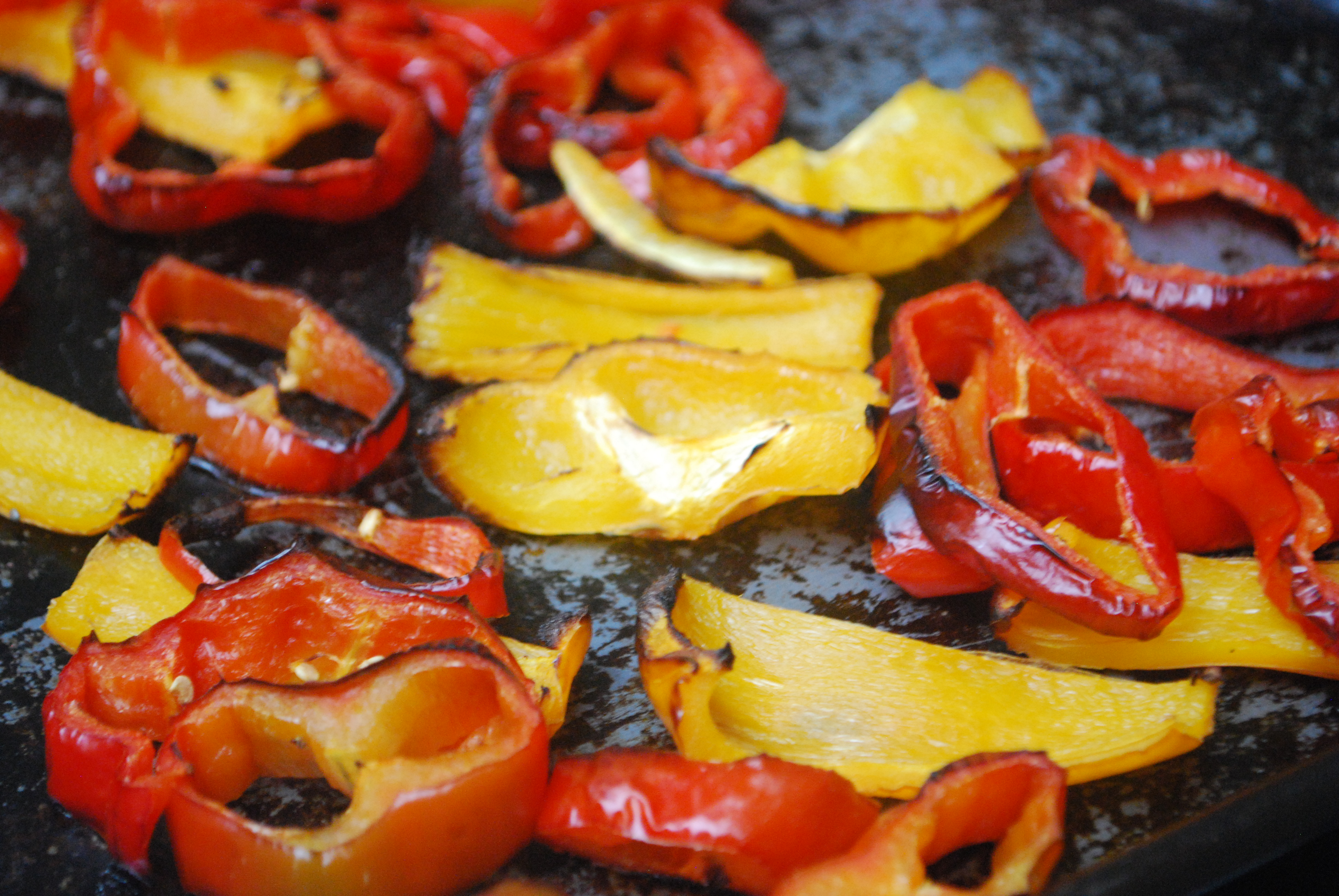 Roasted Red Pepper Pasta Sauce - preparation