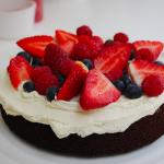 Flourless, Naturally Sweetened, Chocolate Cake