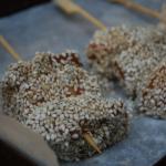 Sesame Salmon Sticks