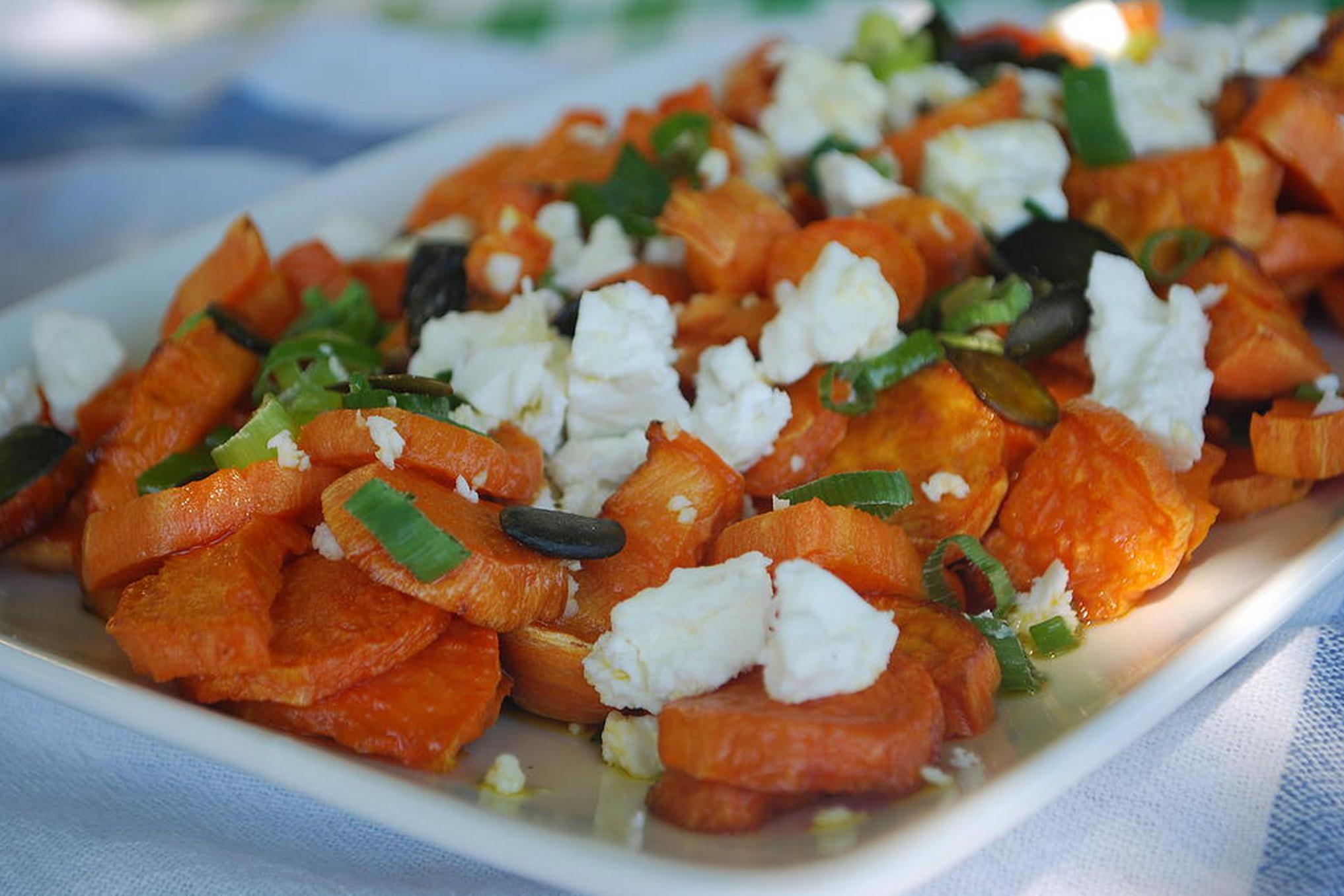 Sweet Potato & Feta Salad