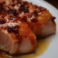 Sticky Glazed Salmon