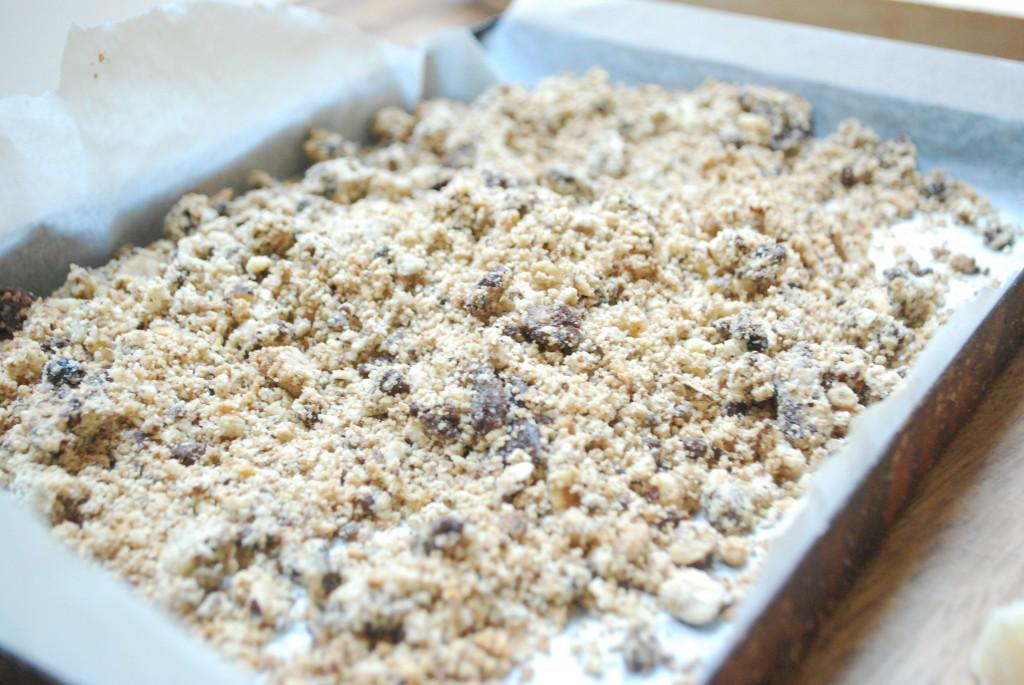 Buckwheat Crumble Topping