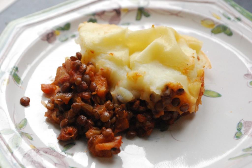 Lentil Shepherd's Pie - Winter Warmers