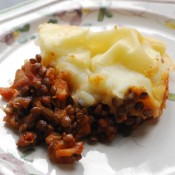 Lentil Shepherds Pie