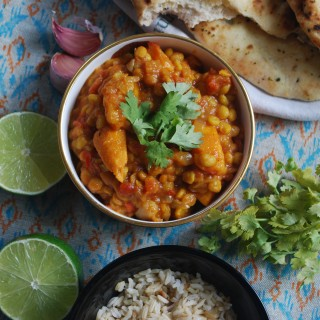 Coconut and Chickpea Curry
