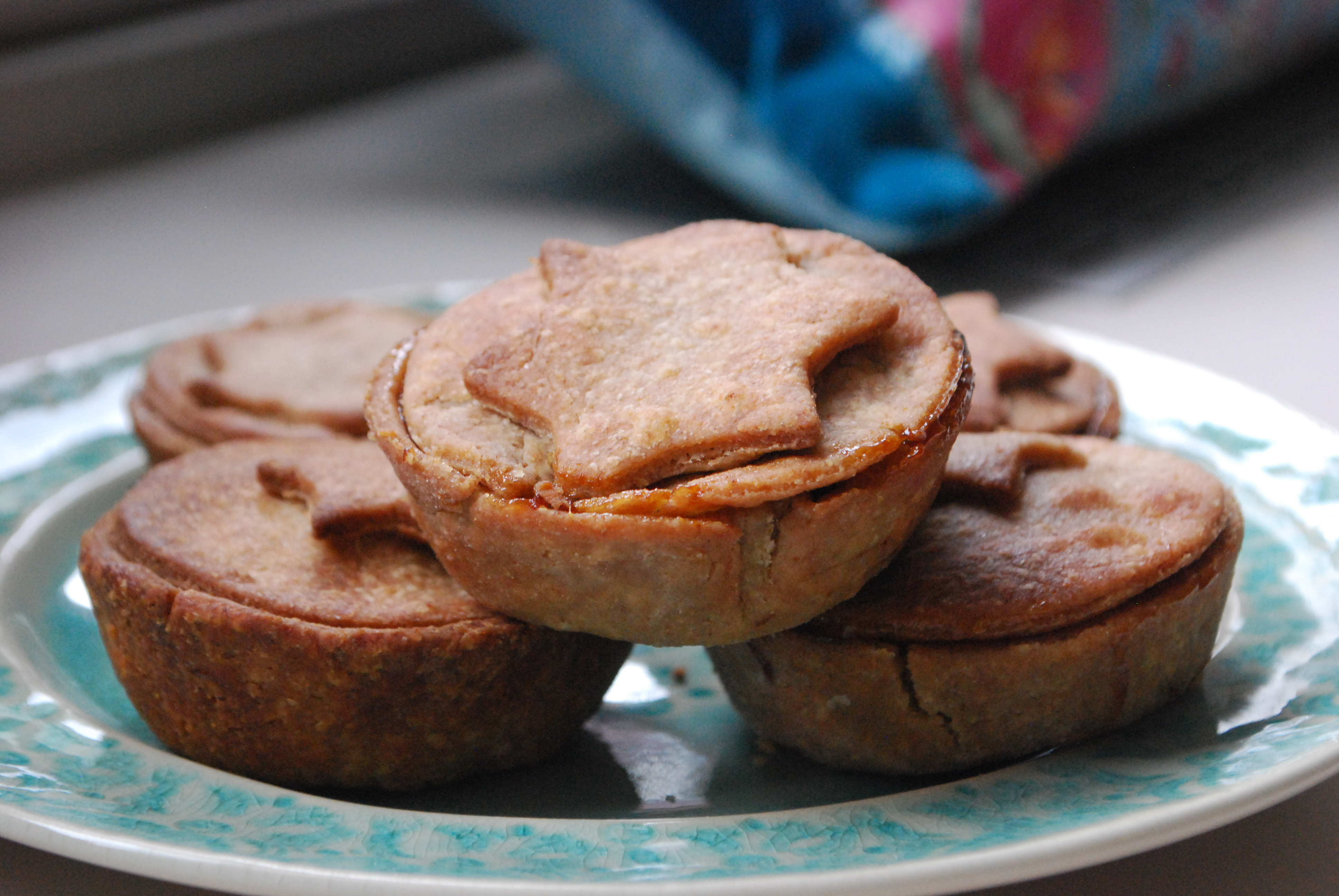 Healthy mince pies - healthy Christmas recipes