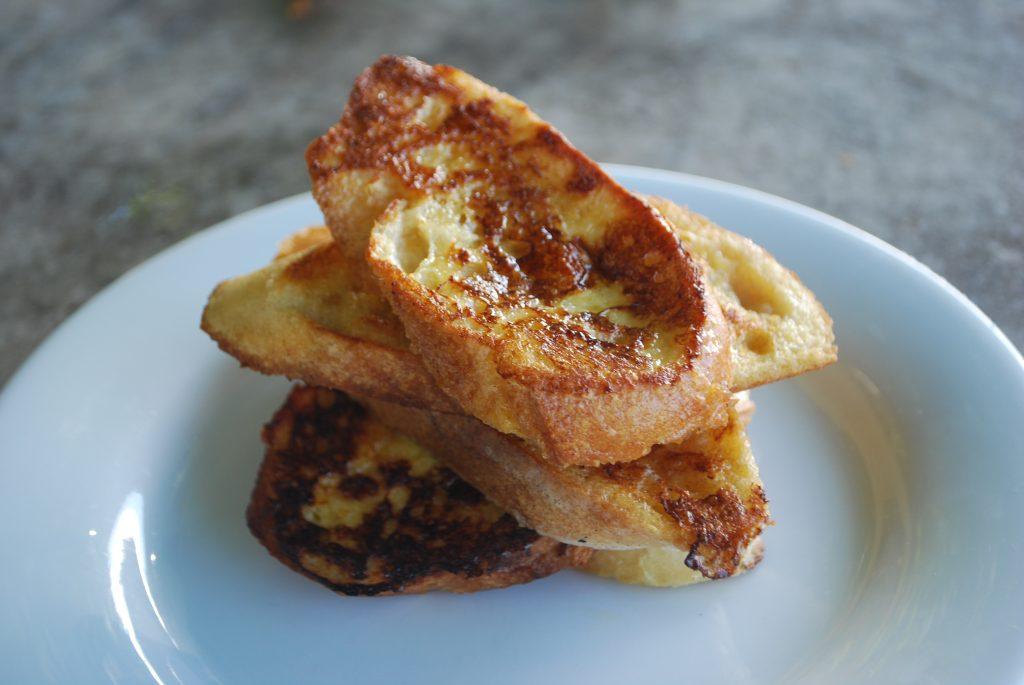 Cinnamon Eggy Bread