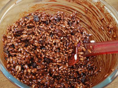 Chocolate Rice Crispy Cakes