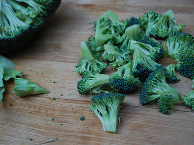 Broccoli Fish Pie - prep