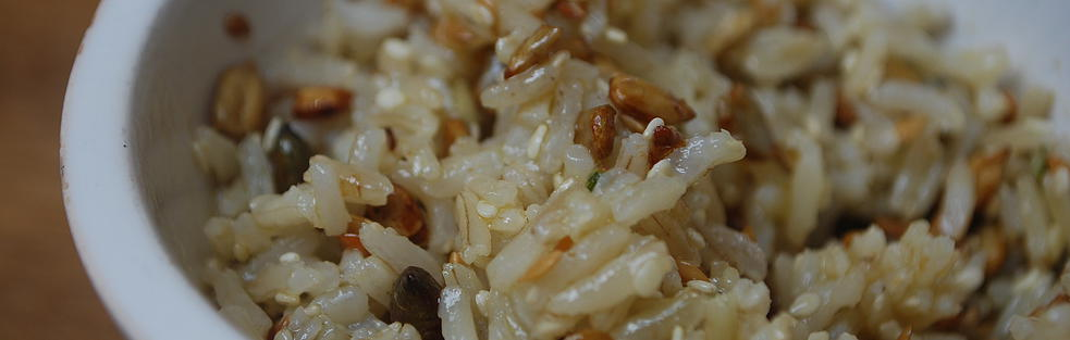 Brown Rice with Seeds